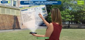 Audibox : logiciel de positionnement